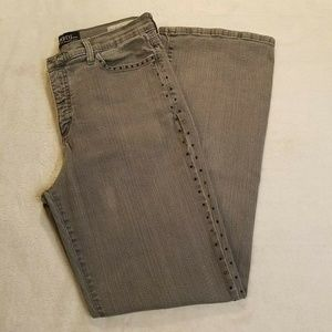 NYDJ Not Your Daughters Jeans Womens 14 Gray 817